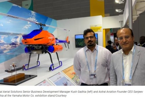 Kenyan company to promote use of Yamaha drones in agriculture and civil engineering